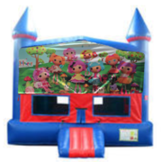 Lalaloopsy Bounce House with Basketball Goal