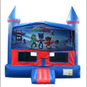 PJ Mask Bounce House with Basketball Goal