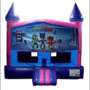 PJ Mask Bounce House (Pink) with Basketball Goal