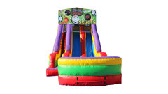 Sports USA 18' Double Lane Dry Slide