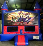 Yu-Gi-Oh! Bounce House With Basketball Goal