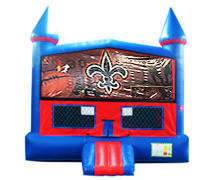 Nola Bounce House with Basketball Goal