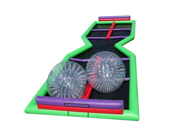 Hamster Zorb Balls &  X Track Rental With Attendanta