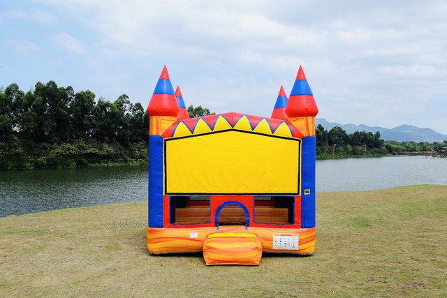 Fire Castle Bounce House
