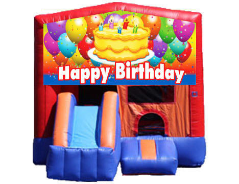 3-in-1 Combo with Front Slide - Birthday Cake (Dry)