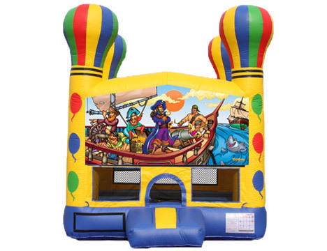 Balloon Bounce House - Pirates