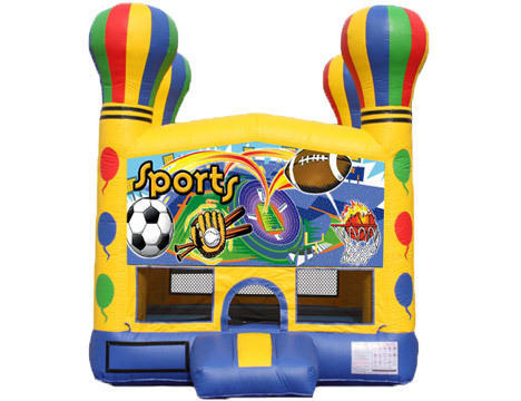 Balloon Bounce House - Sports