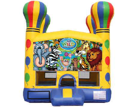 Balloon Bounce House - Wild Kingdom