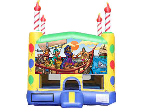 Candle Bounce House - Pirates