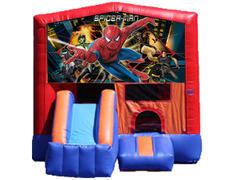 3-in-1 Combo with Front Slide - Spiderman (Dry)