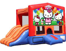 4-in-1 Combo with Double Slides - Hello Kitty (Dry)