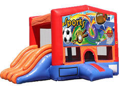 4-in-1 Combo with Double Slides - Sports (Dry)