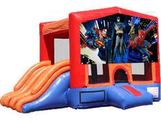 4-in-1 Combo with Double Slides - Superheroes (Dry)