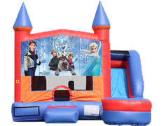 6-in-1 Castle Combo with Slide (Wet) - Frozen 2