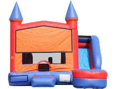 6-in-1 Castle Combo with Slide (Wet)