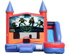 6-in-1 Castle Combo with Slide (Wet) - Teenage Mutant Ninja Turtles