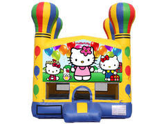 Balloon Bounce House - Hello Kitty