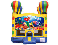 Balloon Bounce House - Little Mermaid