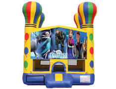Balloon Bounce House - Frozen