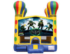 Balloon Bounce House - Teenage Mutant Ninja Turtles