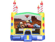 Candle Bounce House - Cars