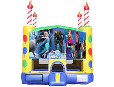 Candle Bounce House - Frozen