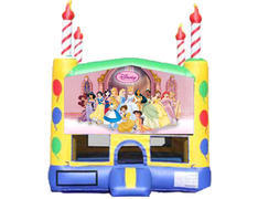 Candle Bounce House - Princesses