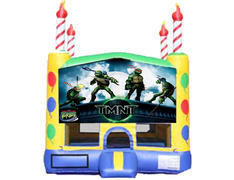 Candle Bounce House - Teenage Mutant Ninja Turtles