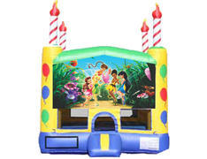 Candle Bounce House - Tinker Bell