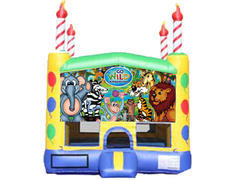Candle Bounce House - Wild Kingdom