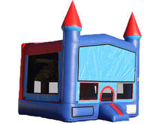 Blue & Red Castle Bounce House