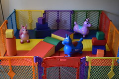 Baby and Toddler Soft Play Yard (Indoor)