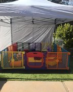 Baby and Toddler Soft Play Yard (Outdoor with Canopy)