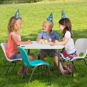 Package: 1 Childrens Square Table & 4 Chairs