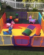 Baby and Toddler Soft Play Yard (Outdoor)