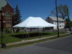 20 x 30 Pole Tent Package