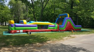 2 Piece Obstacle Course