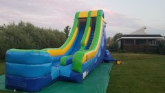18 Foot Water or Dry Slide