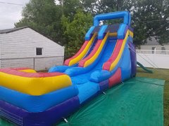 15 Foot Water or Dry Slide