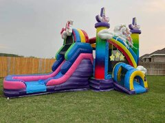 Mega Unicorn With Slide