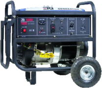 Generator with 1 Full Tank of Gas
