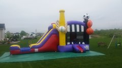 Mega Sports Combo Play Gym With Slide