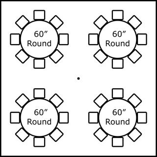 4-60  TABLES 32 - CHAIRS  sc 1 st  Busy Bee Jumpers & Tent Seating Charts