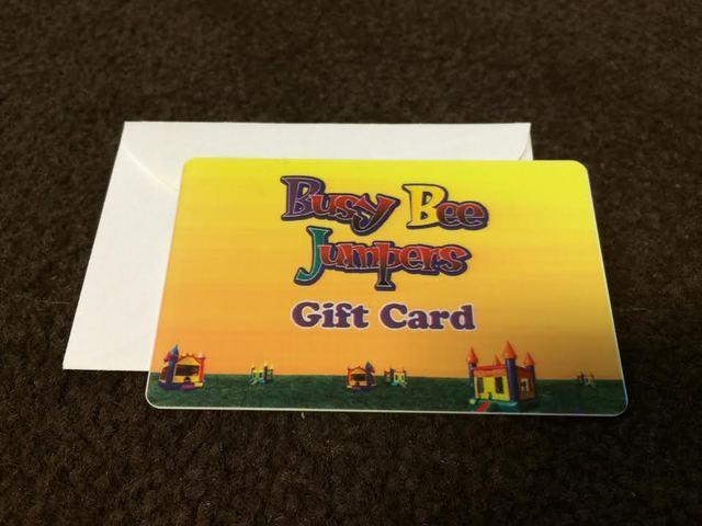 $100 Busy Bee Jumpers Gift Card
