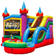 Wet Combo Bouncer Rental