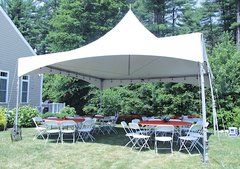 20x20 High Peak Tent Package