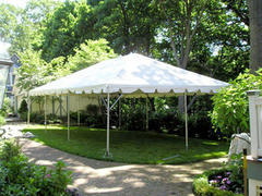 20 x 30 White Frame Tent Package
