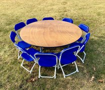 kiddie tables and chair package - blue