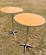 Set of (2) Cocktail Tables - 42 inches