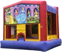 Disney Princess Bouncer - 13x13
